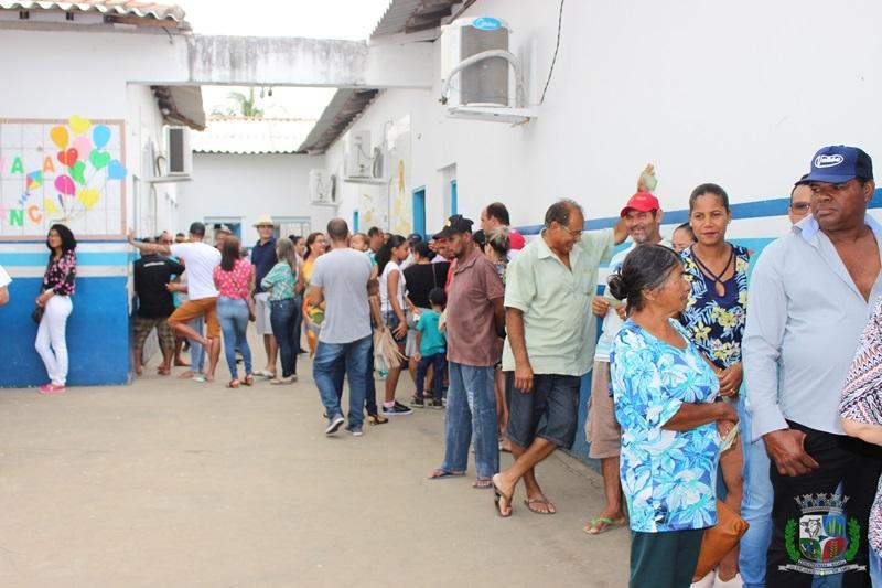 Participação popular foi grande na eleição. (ASCOM-Prefeitura de Itagimirim)