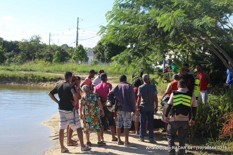 Afogamento aconteceu em lagoa no bairro Colonial. (Foto: Gustavo Moreira/Radar64)