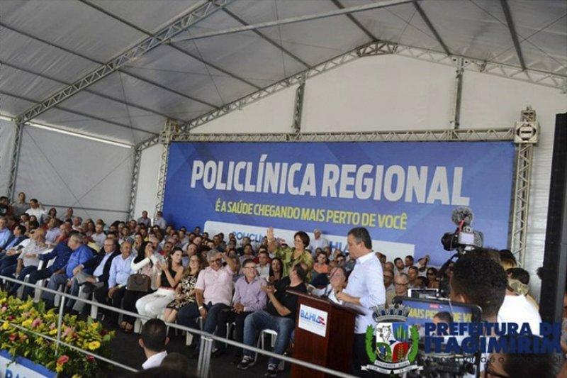O evento prestigiado por prefeitos, deputados e lideranças do sul e extremo sul baiano (ASCOM)