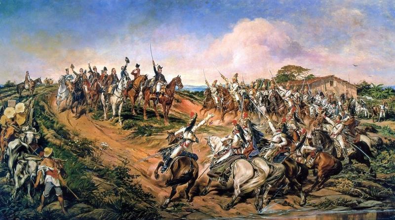 Independência ou Morte, do pintor paraibano Pedro Américo. (óleo sobre tela, 1888).
