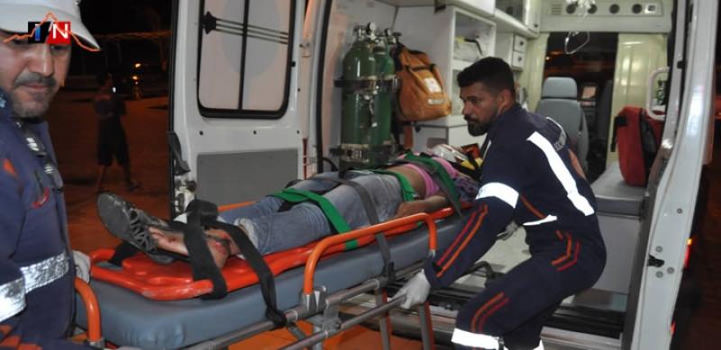 Jovem foi atropelada na última segunda-feira dia 31 de julho (Foto: Itamaraju Notícias)