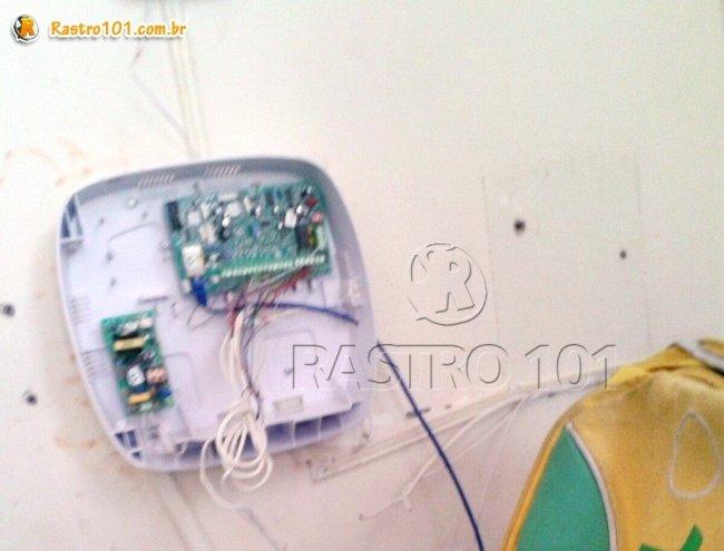 Sistema de vigilância foi violado. (Foto: Rastro101)