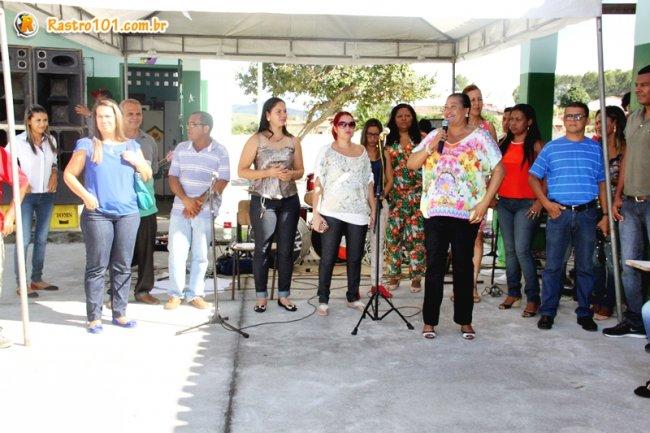 Diretora Alda Maria agradeceu a presença e empenho de todos. (Foto: Briza Pinheiro)