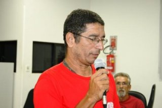 Presidente reeleito, Osvaldiney Dias dos Santos (Foto: Texeira Verdade)