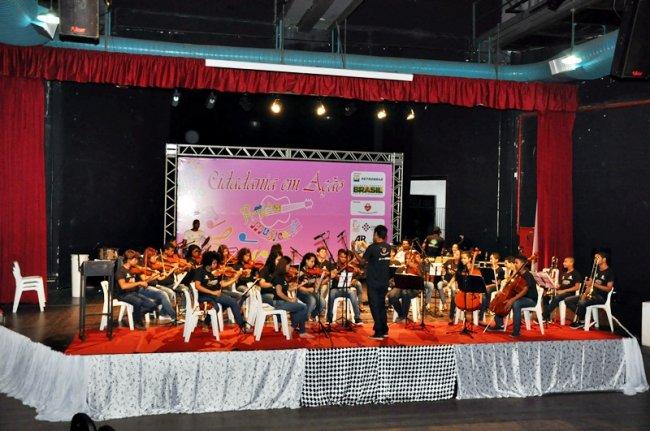 Apresentação da Orquestra Musicart (Divulgação)