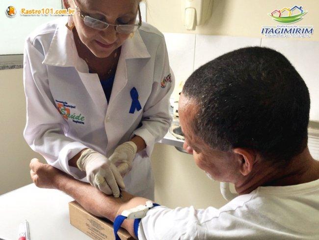 Foram realizadas diversas atividades relativas à Campanha de Conscientização contra o Câncer de Próstata. (Foto: Divulgação)