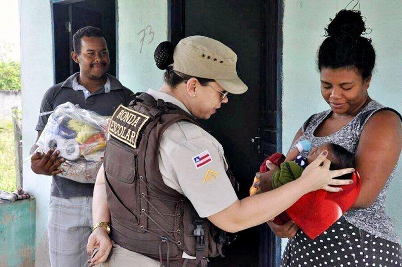 Polícia trabalha gerando a sensação de segurança que a comunidade anseia (Divulgação)