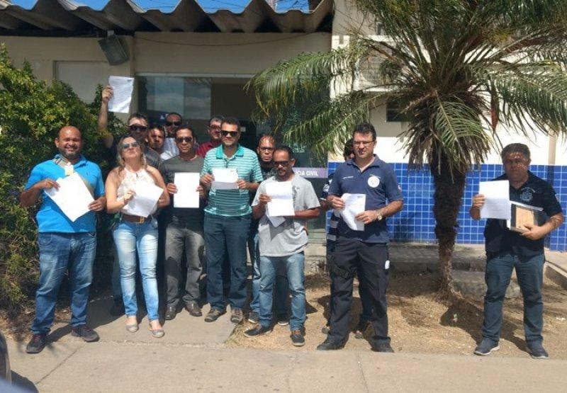 Agentes da Polícia Civil de Juazeiro-BA (Divulgação)