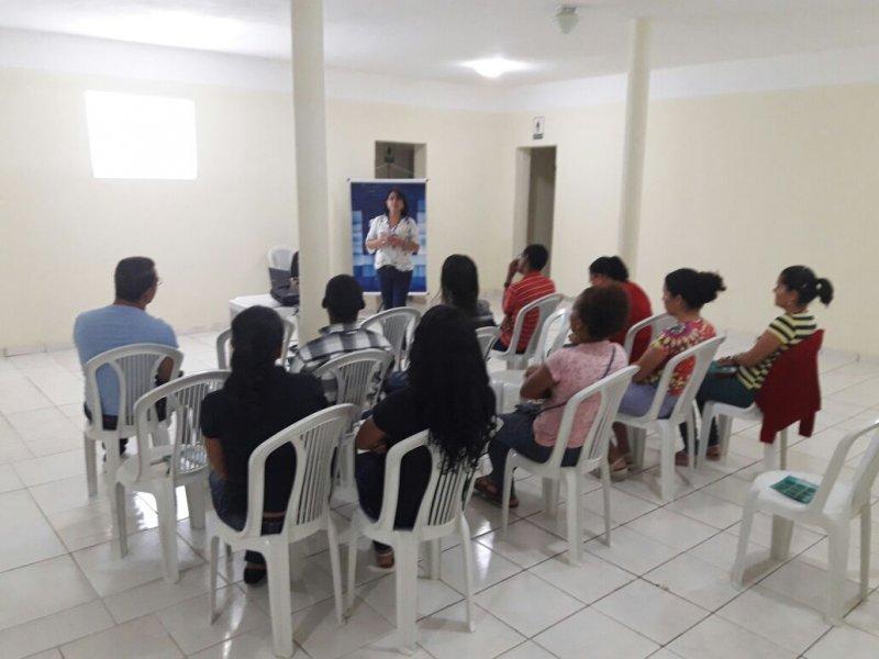 Palestra sobre Micro Empreendedor Individual em Itapebi. (Divulgação)