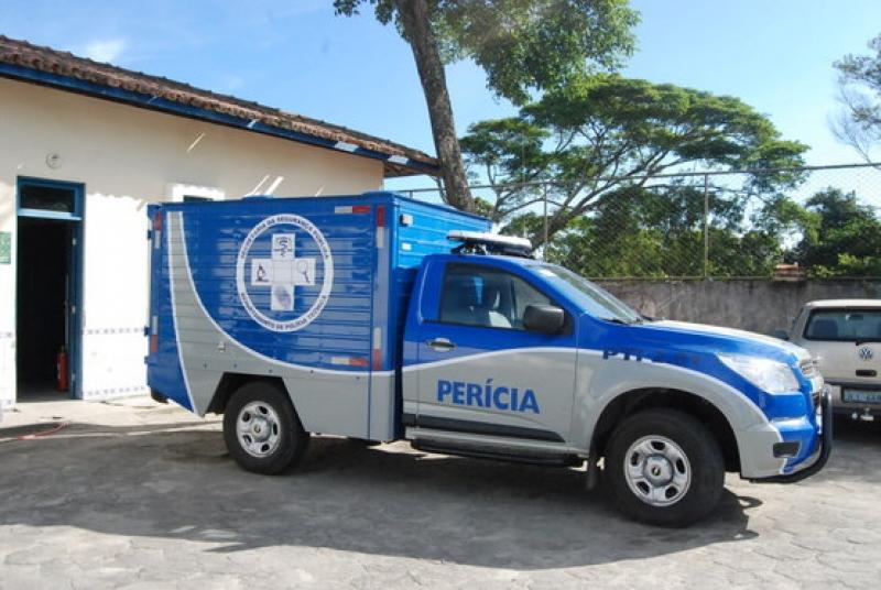 Corpo da vítima foi encaminhado ao IML de Porto Seguro. (Reprodução)
