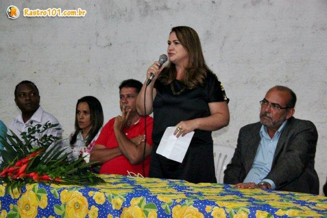 O grande encontro teve como objetivo principal a apresentação, pelo prefeito, da nova secretária da Pasta Social, Sr.ª Wanderleia Ferreira que já ocupou o cargo durante a gestão. (Foto: ASCOM)