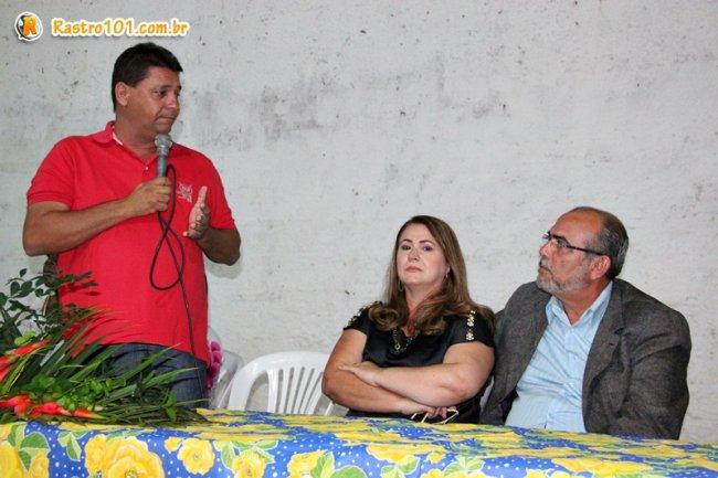 Rogério Andrade reuniu a sua equipe de governo para apresentar os novos membros que passaram a compor a equipe. (Foto: ASCOM)
