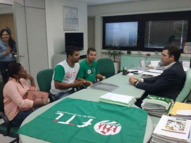 Reunião com Dr. Bruno Miguel Superintendente da CONAB. (Divulgação)