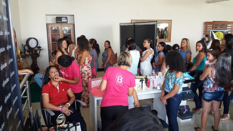O evento Ser Mulher aconteceu no dia 17/03, em Eunápolis. (Ascom/Veracel)