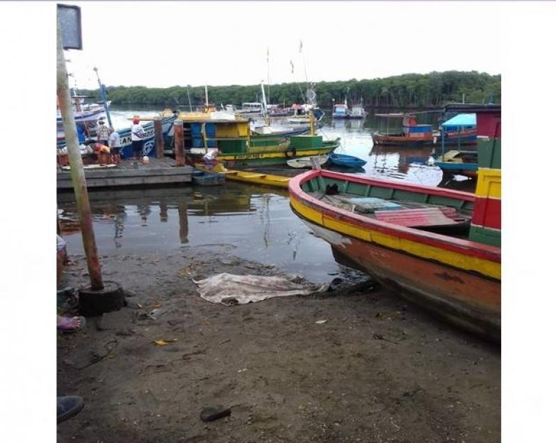 Corpo foi encontrado por pescadores. (Imagem: Reprodução)