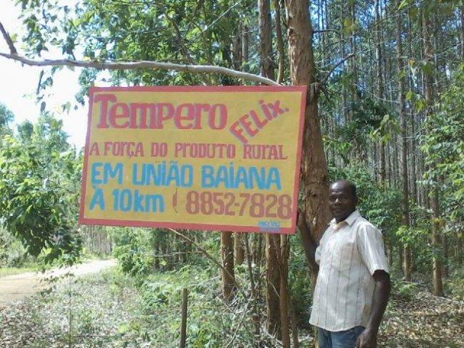 Gilson é micro-empreendedor em União Baiana e sua empresa completa 4 anos. (Foto: Divulgação)