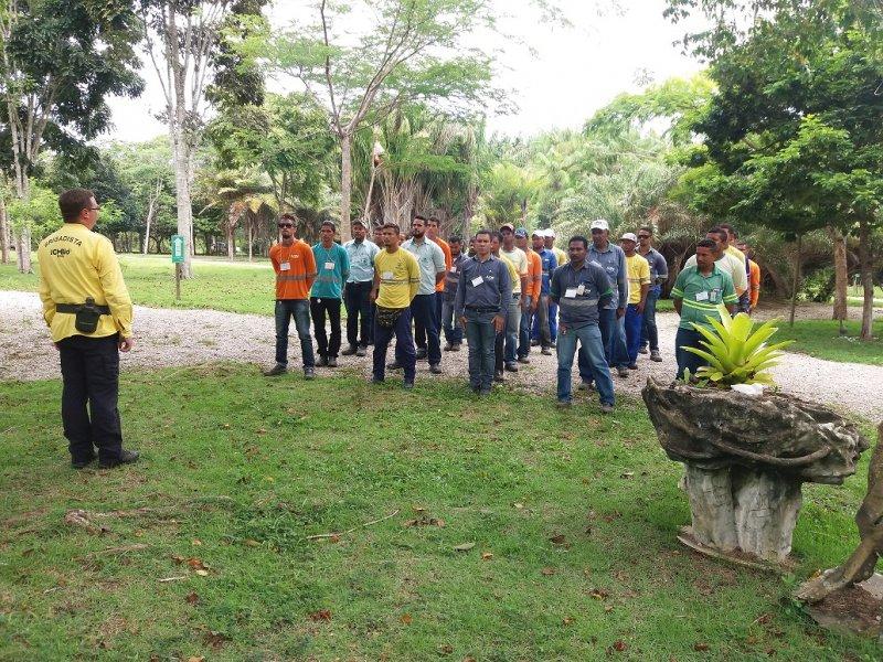 A Veracel Celulose promoveu o curso de Formação de Brigadistas de Prevenção e Combate aos Incêndios Florestais para 30 colaboradores de empresas terceirizadas