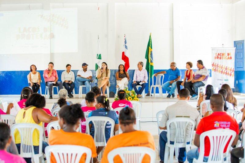 O projeto Laços de Proteção visa promover a prevenção e o atendimento a crianças e adolescentes vítimas de algum tipo de violência. (Divulgação Veracel)