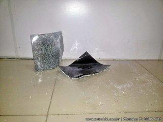 As telas dos caixas foram arrancados após serem danificadas. (Foto: Rastro101)