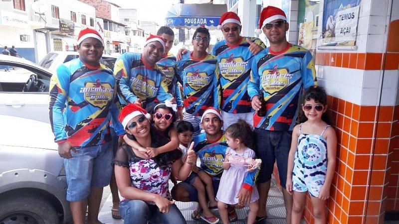 Grupo de trilheiros é formado por empresários e amantes da velocidade em Itagimirim (Foto: Divulgação)