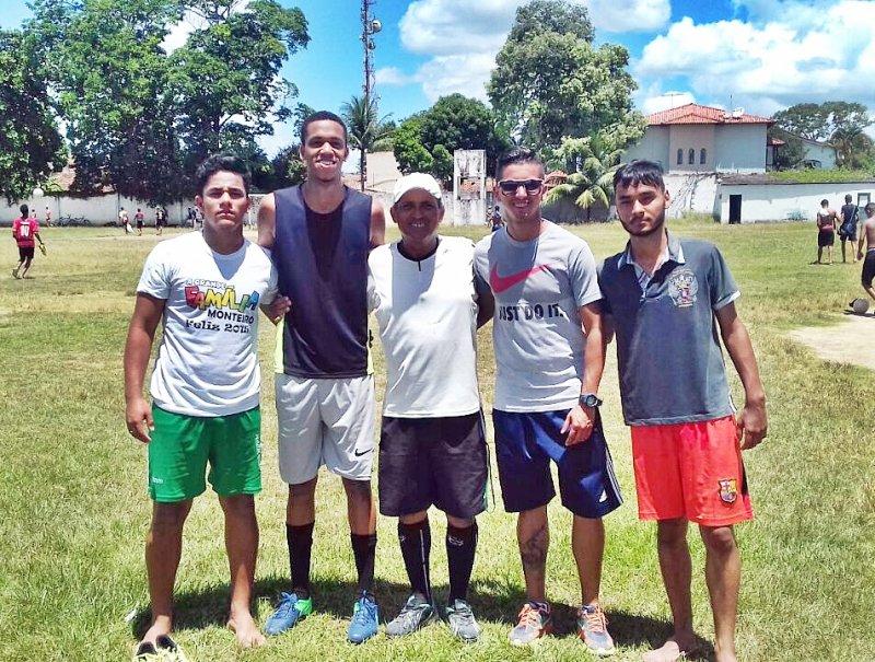 Marcos e Kauan (Da esquerda para a direita) foram selecionados para a seleção Sub-20.