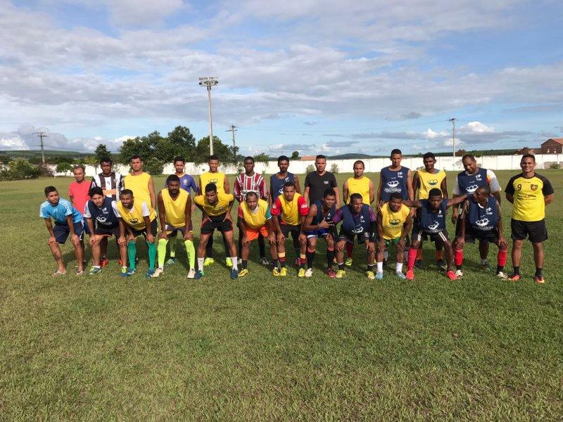 Equipe que fará parte da Seleção de Futebol de Campo de Itagimirim já está sendo formada. (Divulgação)