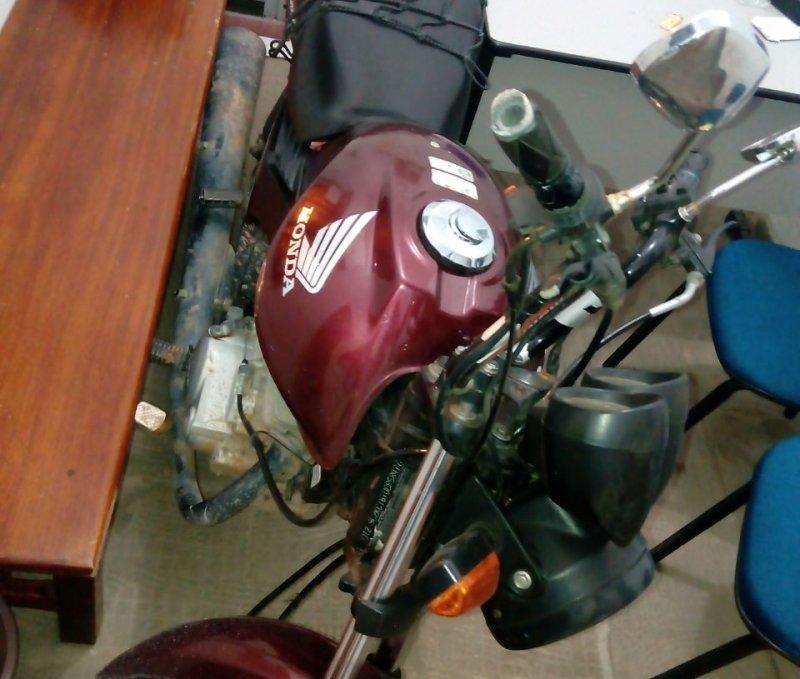Moto usada no crime (Rastro101)