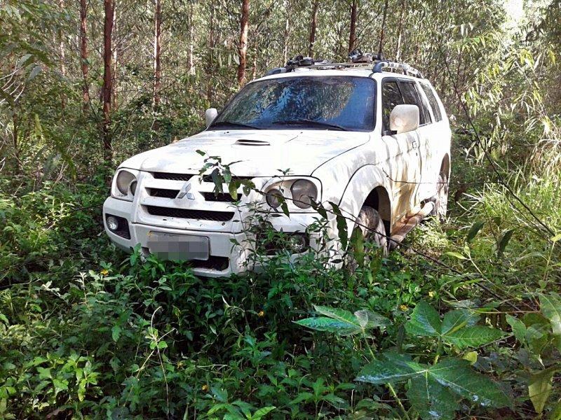Veículo estava abandonado em uma plantação de eucalipto (Rastro101)