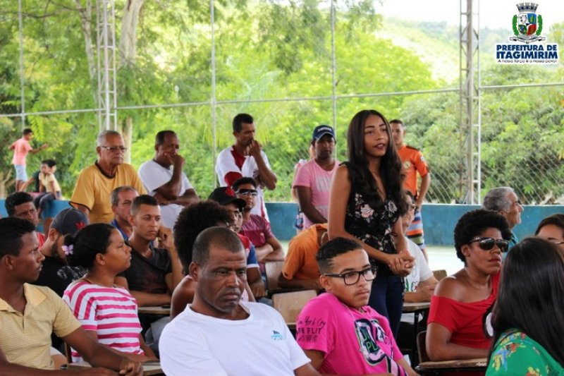 A comunidade teve uma importante e efetiva participação no evento através de perguntas e solicitações de interesse coletivo. (ASCOM)