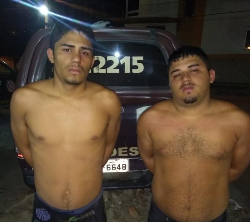 Irmãos foram detidos pela Rondesp. (Divulgação/PM-BA)