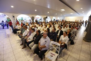 O evento realizado em parceria com o Sebrae, reúne cerca de 300 empresários de variados segmentos. (Foto: Divulgação)