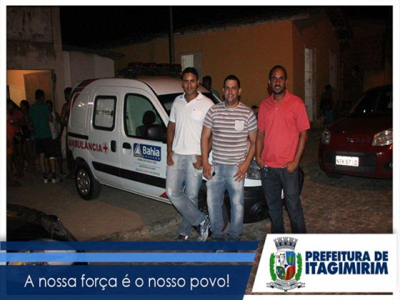 Equipe de Saúde e Policia Militar deram apoio durante todo o evento. (Ascom)