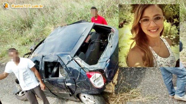 Jovem de 14 anos morreu no local. Ela morava no estado do Espírito Santo.