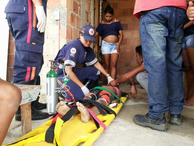 Menino de 5 anos já estava morto quando foi atendido pelo SAMU. (Foto: Rastro101)