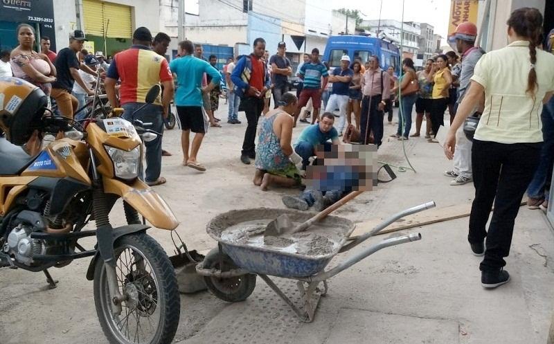 Pedreiro morreu logo após dar entrada no hospital. (Reprodução: Liberdade News)