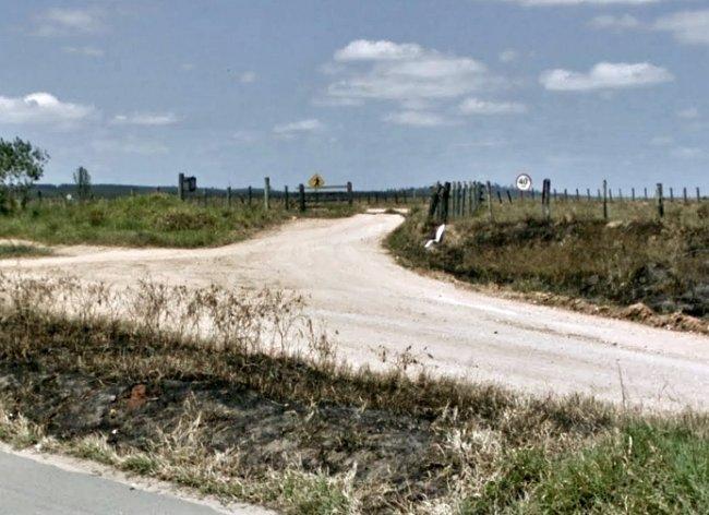 Local de entrada para o Campo de Aviação, onde moradores realizam atividades físicas. (Reprodução/Google)
