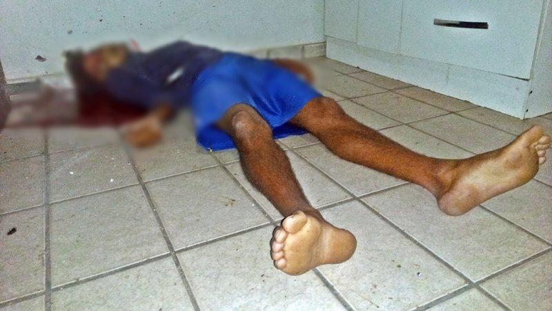 Jovem foi morto com vários tiros na cabeça (Rastro101)