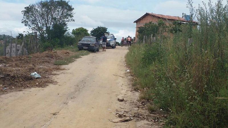 Corpo foi encontrado em um local de difícil acesso. (Foto do site Radar64)
