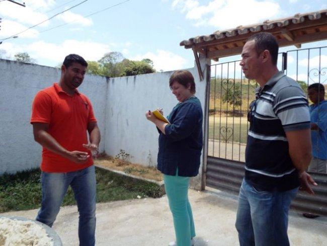 Técnicos visitaram o distrito de União Baiana. (Foto: Adson Oliveira/Rastro101)
