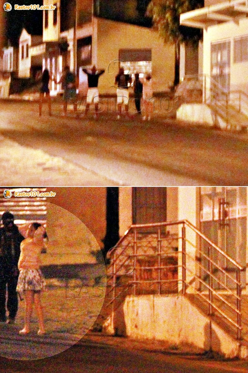 Moradores que passavam no local foram feitos de reféns (Rastro101)