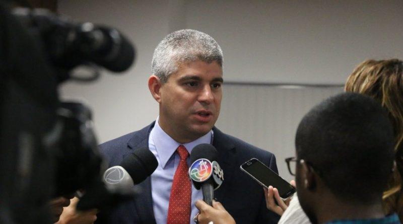Secretário de Segurança da Bahia, Maurício Teles Barbosa. (Reprodução)