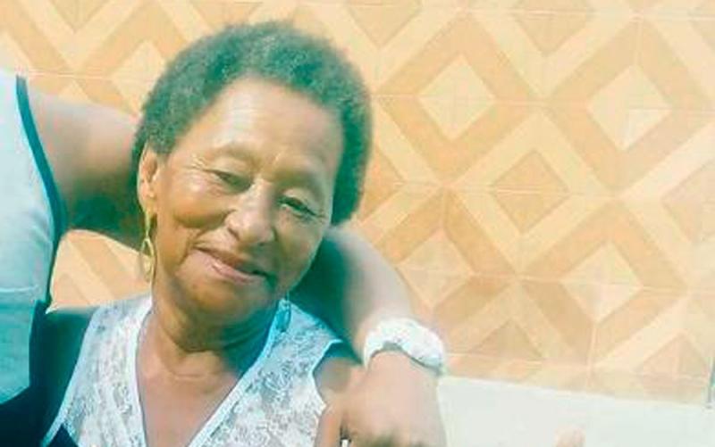 Francisca Amorim de 71 anos. (Foto: Fábio Santos / Voz da Bahia)