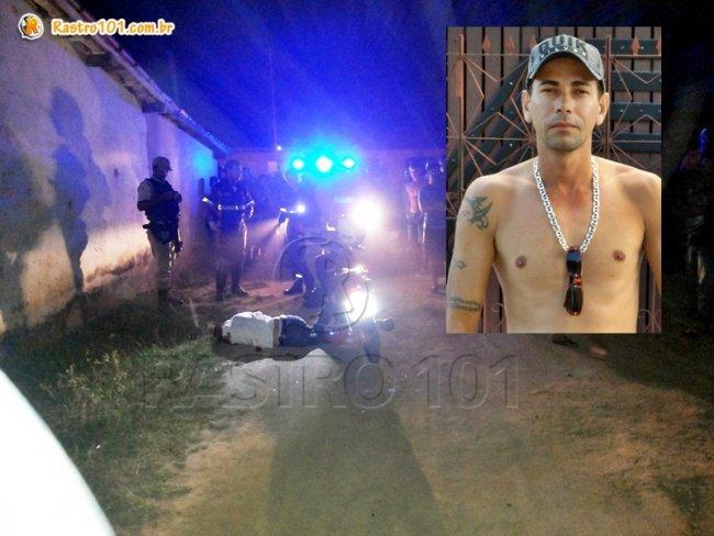 André Ferraz foi assassinado a tiros em Itagimirim. (Foto: Rastro101)