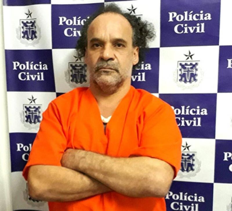 Gildásio foi preso através de denúncias anônimas (Foto: BAHIA DIA A DIA)
