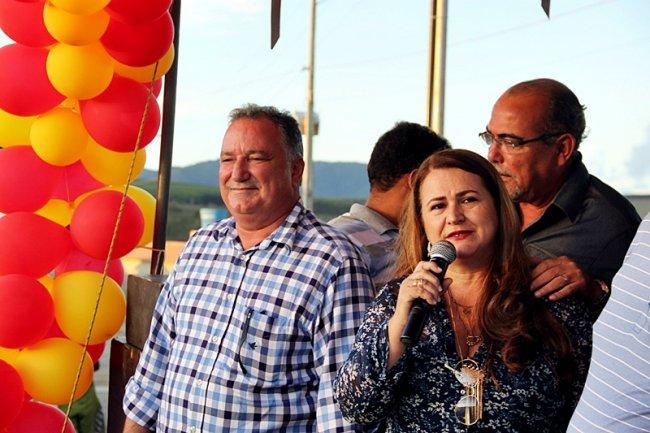De acordo com a secretária municipal do Desenvolvimento Social, Wanderléia Santos, pasta responsável pela execução do programa, a prefeitura buscou dar agilidade às obras. (Foto: TIM/ASCOM)
