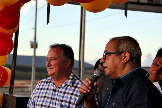 O secretário municipal da Saúde, Sérgio Murilo, destacou a importância do equipamento para a população local. (Foto: TIM/ASCOM)