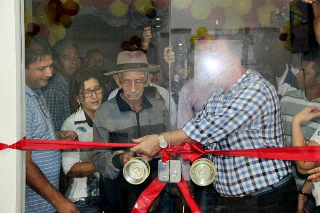 No mesmo dia da entrega das casas, o PSF Judite Rodrigues foi inaugurado. (Foto: Tim/ASCOM)