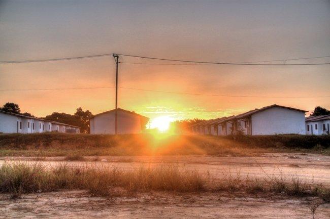 38 casas serão entregues no bairro Norberto Fernandes. (Foto: Rastro101)