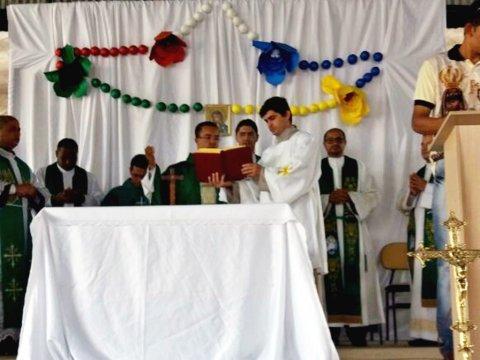 Itagimirim sediou o encontro com o Padre Klebio de Freitas Felipe (Divulgação)