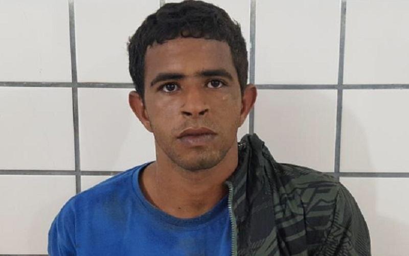 Ariel Araújo Amaral sofreu ferimento após ser agredido pela população. (Foto do site Liberdade News)